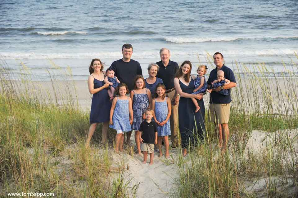 Topsail Island reunion Photography